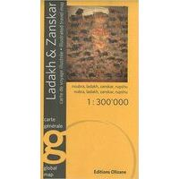 Editions Olizane Ladakh & Zanskar (India) 1:300.000
