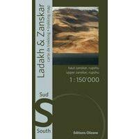 Editions Olizane Ladakh & Zanskar Zuid 1:150.000