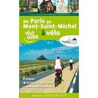 Editions Ouest-France De Paris Au Mont-Saint-Michel Fietsgids