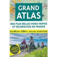 Editions Ouest-France Fietsgids Grand Atlas Des Plus Belles Voies Vertes De France
