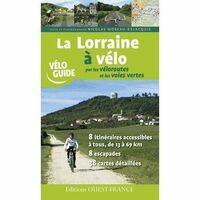 Editions Ouest-France Fietsgids Lorraine A Velo Par Les Voies Vertes