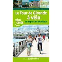 Editions Ouest-France Fietsgids Tour De Gironde A Velo