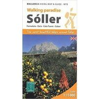 Editorial Alpina Mallorca: Map & Hiking Guide Soller