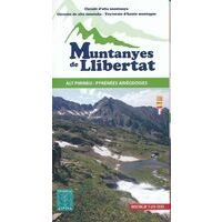 Editorial Alpina Wandelkaart Muntanyes De Llibertat