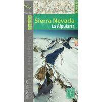 Editorial Alpina Wandelkaart Sierra Nevada - La Alpujarra