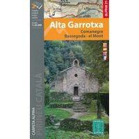 Editorial Alpina Wandelkaart Alta Garrotxa - Comanegra