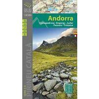 Editorial Alpina Wandelkaart Andorra 1:40.000