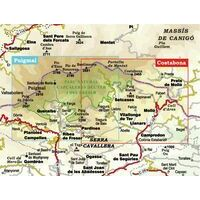 Editorial Alpina Wandelkaart Capcaleres Del Ter I Del Freser 1:25.000