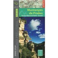 Editorial Alpina Wandelkaart Muntanyes De Prades (Siurana)