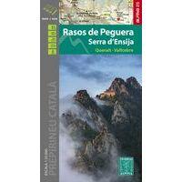 Editorial Alpina Wandelkaart Rasos De Peguera - Serra D'Ensija
