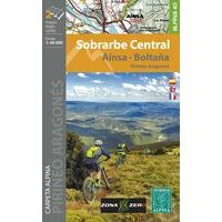 Editorial Alpina Wandelkaart Sobrarbe Central - Ainsa - Boltana