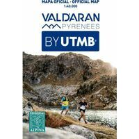 Editorial Alpina Wandelkaart Val D'Aran By UTMB Trail Running Map