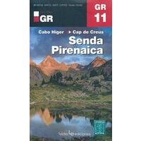 Editorial Alpina Wandelkaarten GR11 Senda Pirenaica