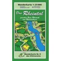 Eifelverein Wandelkaart 08 Das Rheintal