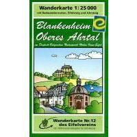Eifelverein Wandelkaart 12 Blankenheim - Oberes Ahrtal