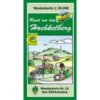Eifelverein Wandelkaart 13 Rund Um Den Hochkelberg