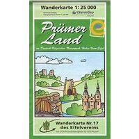 Eifelverein Wandelkaart 17 Prümer Land