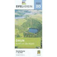 Eifelverein Wandelkaart 20 Daun Rund Um Die Maare