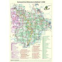 Eifelverein Wandelkaart 24 Wittlicher Land