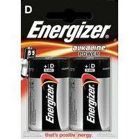Energizer Power LR20 Alkaline Batterij D-cell Twee Stuks