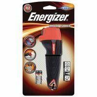 Energizer Zaklamp Impact Rubber Inclusief 2xAA
