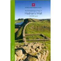 English Heritage Hadrian's Wall Archaeological Map