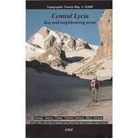 EWp Topografische Kaart Central Lycia - Kas Demre Finike