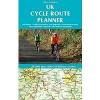 Excellent Books Routeplanner UK Cycle Route Planner Map