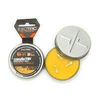 Exotac CandleTIN HOT Burn Small Waxinelicht Bijenwax