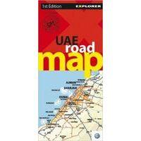 Explorer United Arabic Emirates Road Map