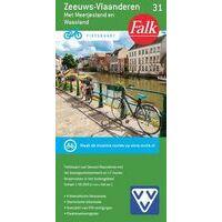 Falk Fietskaart 31 Zeeuws-Vlaanderen