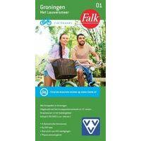 Falk Fietskaart 01 Groningen
