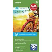 Falk Fietskaart 08 Twente