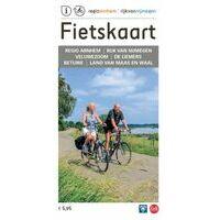 Falk Fietskaart Regio Arnhem Nijmegen