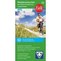 Falk Fietskaart 02 Waddeneilanden Met Noord-Friesland