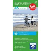 Falk Fietskaart 16 Zeeuwse Eilanden