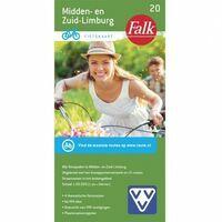 Falk Fietskaart 20 Midden-en Zuid-Limburg
