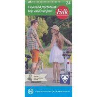 Falk Fietskaart 24 Flevoland, Vechtdal & Overijssel