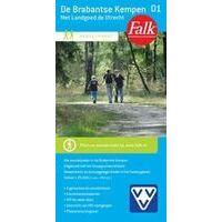 Falk Wandelkaart 01 De Brabantse Kempen