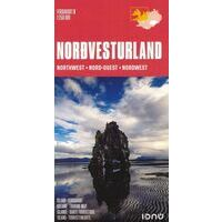Ferdakort Maps Ijsland Wegenkaart 1 IJsland Noordwest