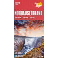 Ferdakort Maps Ijsland Wegenkaart 3 IJsland Noordoost