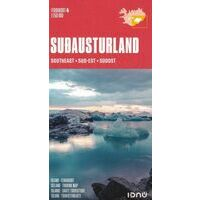 Ferdakort Maps Ijsland Wegenkaart 4 IJsland Zuidoost