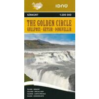 Ferdakort Maps Ijsland Wegenkaart The Golden Circle IJsland
