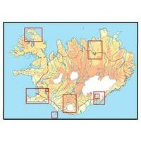Ferdakort maps ijsland