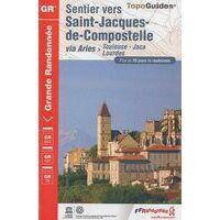 FF Randonnee Wandelgids GR653 Toulouse - Lourdes - Jaca