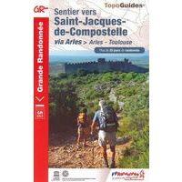 FF Randonnee Wandelgids 653 Sentier St-Jacques Arles-Toulouse
