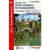 FF Randonnee Wandelgids 6543 Sentier St-Jacques