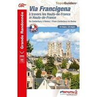 FF Randonneee Wandelgids GR145 Via Francigena Canterbury - Reims