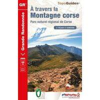 FF Randonnee Wandelgids GR20 Corse Travers La Montagne Corse
