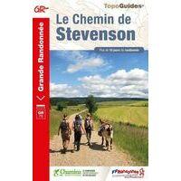FF Randonneee Wandelgids GR70 Chemin De Stevenson